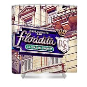 Floridita - Havana Cuba Shower Curtain