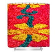 Flower Carpets Shower Curtain