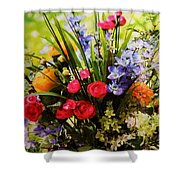 Flowers 4 Shower Curtain
