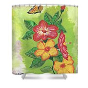 Flowers For My Soul Shower Curtain