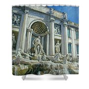 Fontana Di Trevi, Rome Shower Curtain