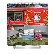 Food Truck Shower Curtain