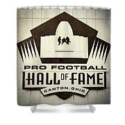 Football Hall Of Fame #1 Shower Curtain
