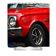 Ford Falcon Details Shower Curtain