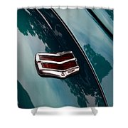 Ford Taillight Shower Curtain