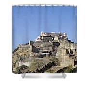 Fort Kumbhalgarh Shower Curtain