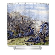 Fort Pillow Massacre, 1864 Shower Curtain by Granger