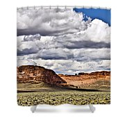Fort Rock Shower Curtain
