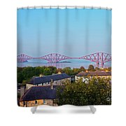 Forth Bridge, Scotland Shower Curtain