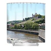 Fortress Marienberg - Wuerzburg - Germany Shower Curtain