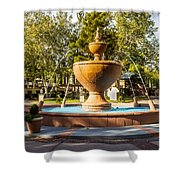 Fountain At Tlaquepaque Shower Curtain