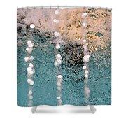 Fountain Shower Curtain