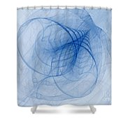 Fractal Image Shower Curtain