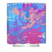 Fragments Of A Dream - Candies Shower Curtain