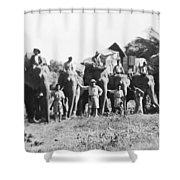 Frank Buck (1884-1950) Shower Curtain