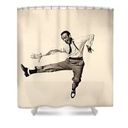 Fred Astaire In Daddy Long Legs 1955 Shower Curtain
