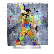 Freddie Mercury Shower Curtain