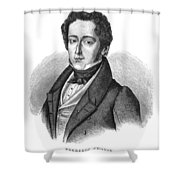 Frederic Chopin (1810-1849) Shower Curtain by Granger