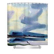 Fremont Salt Pans Shower Curtain