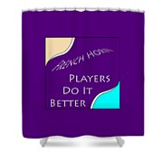 French Horn Players Do It Better 5645.02 Shower Curtain