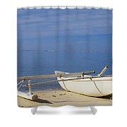 French Polynesia, Rangiro Shower Curtain