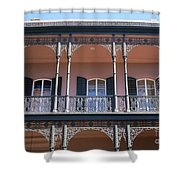 French Quarter 47 Shower Curtain