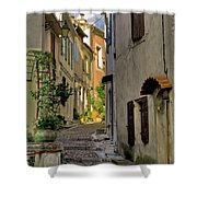 French Scenes Shower Curtain