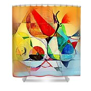 Fresh Fruit Shower Curtain