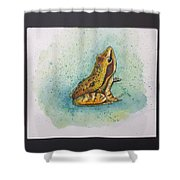 Frogs Of Borneo Ll Shower Curtain