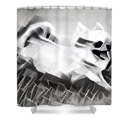Frolicking Chihuahua Series Shower Curtain