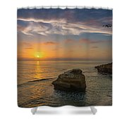 From Surf To Sky Shower Curtain