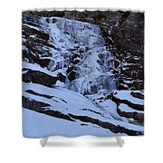Frozen Tokopah Falls Shower Curtain