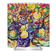 Fruit Full Vibrations Shower Curtain