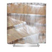 Ft Worth Water Gardens Shower Curtain