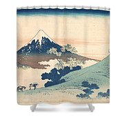 Fuji From Inume Pass Shower Curtain