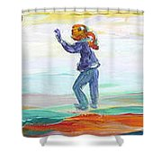 Fun In The Park Shower Curtain