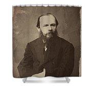 Fyodor Dostoevsky Shower Curtain