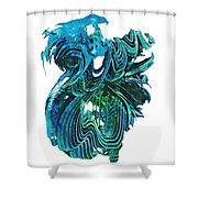 G-2 Shower Curtain