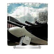 Gabby's P-47 Shower Curtain