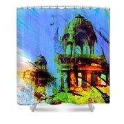 Gadi Sagar  Shower Curtain