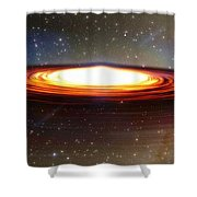 Galactic Core Shower Curtain
