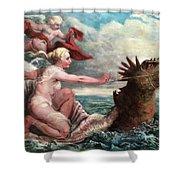 Galatea In Egress Shower Curtain