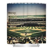 Game Day In Oakland Shower Curtain