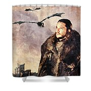 Game Of Thrones. Jon Snow. Shower Curtain