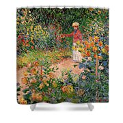 Garden At Giverny Shower Curtain