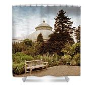 Garden Conservatory Shower Curtain