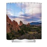 Garden Of The Gods - Colorado Springs Shower Curtain