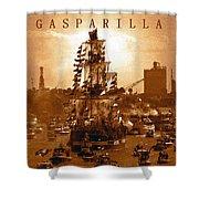 Gasparilla Invasion  Shower Curtain