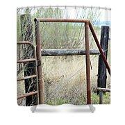 Gate 005 Shower Curtain