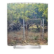 Gate  Shower Curtain